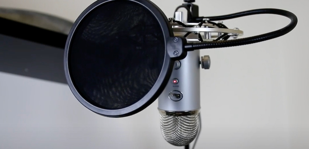 Pop Filters Designed For Blue Yeti Mics