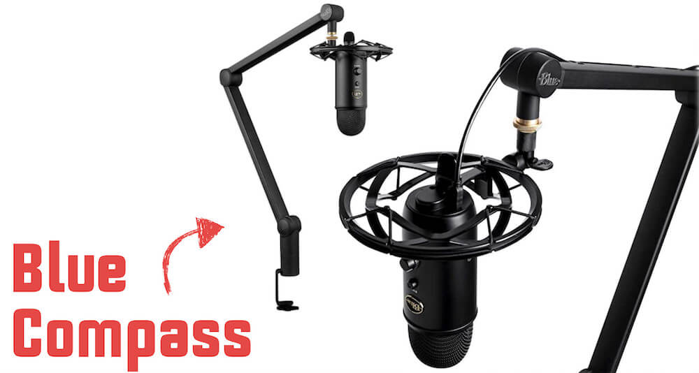 Compass mic mount made by Blue