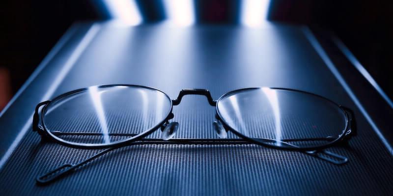 cleaning prescription eye glasses