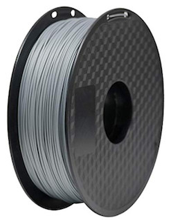 PLA grey filament for FDM printers