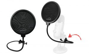 Yeti clamp on pop filter