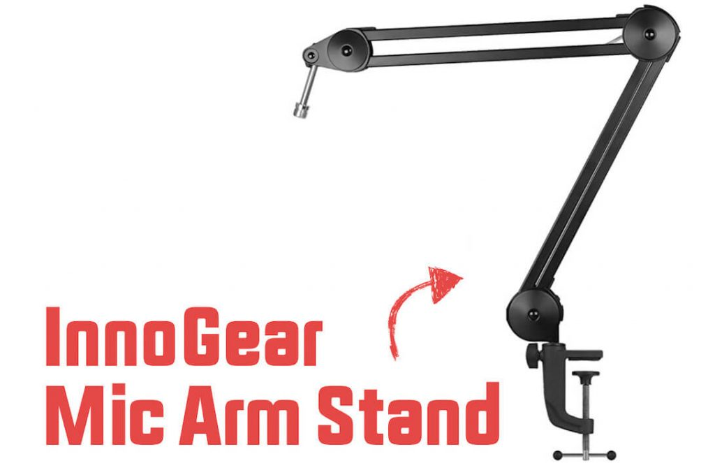 stock mic stand compatible with the Blue Yeti