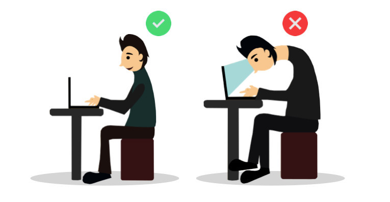 posture benefits of using a stand for laptops