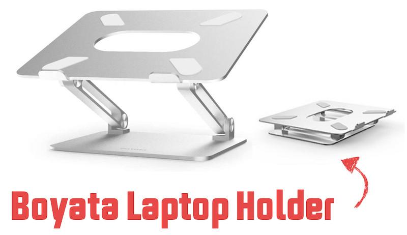 Boyata travel laptop holder tray