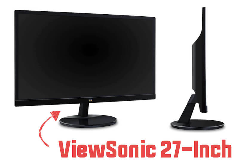 ViewSonic VA2759-SMH 27-Inch monitor screen