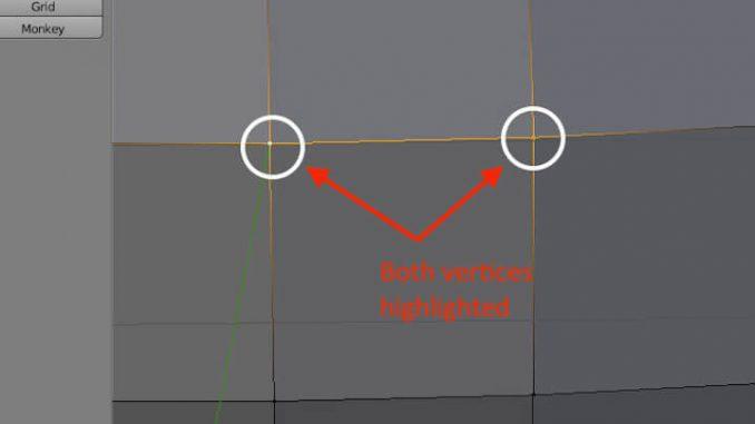 blender merge vertices