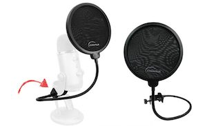 Pop filters to compliment your microphone performance
