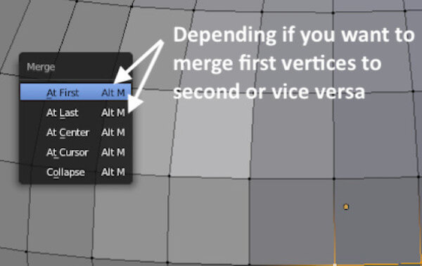 Fixing vertices issues to Blender models