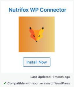 Nutrifox WordPress Plugin