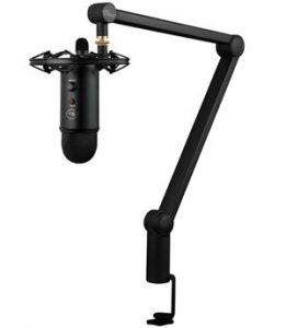 blue compass boom arm for podcasting