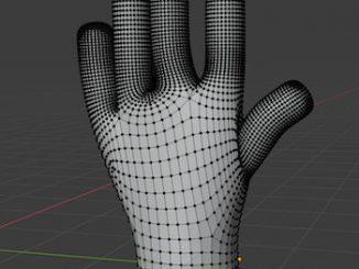 skin modifier for modelling organic objects